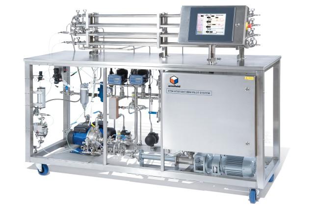 Sistema para tratamento térmico UHT