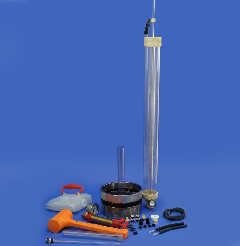 Infiltrômetros de tensão, de anel e de pressão, para solos